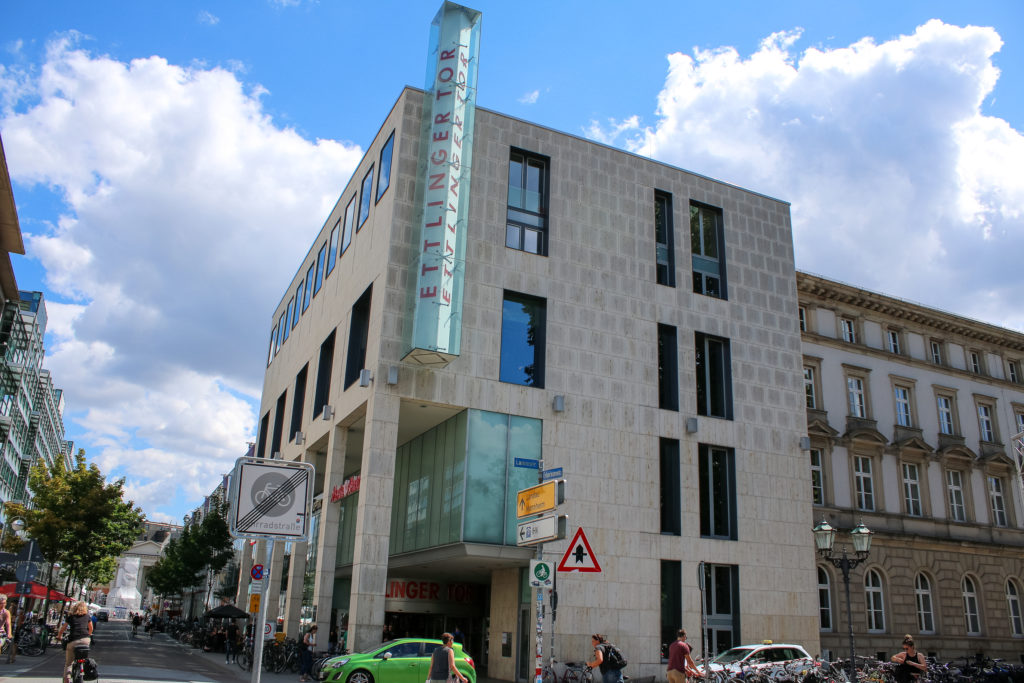 Parkhaus Ece Karlsruhe