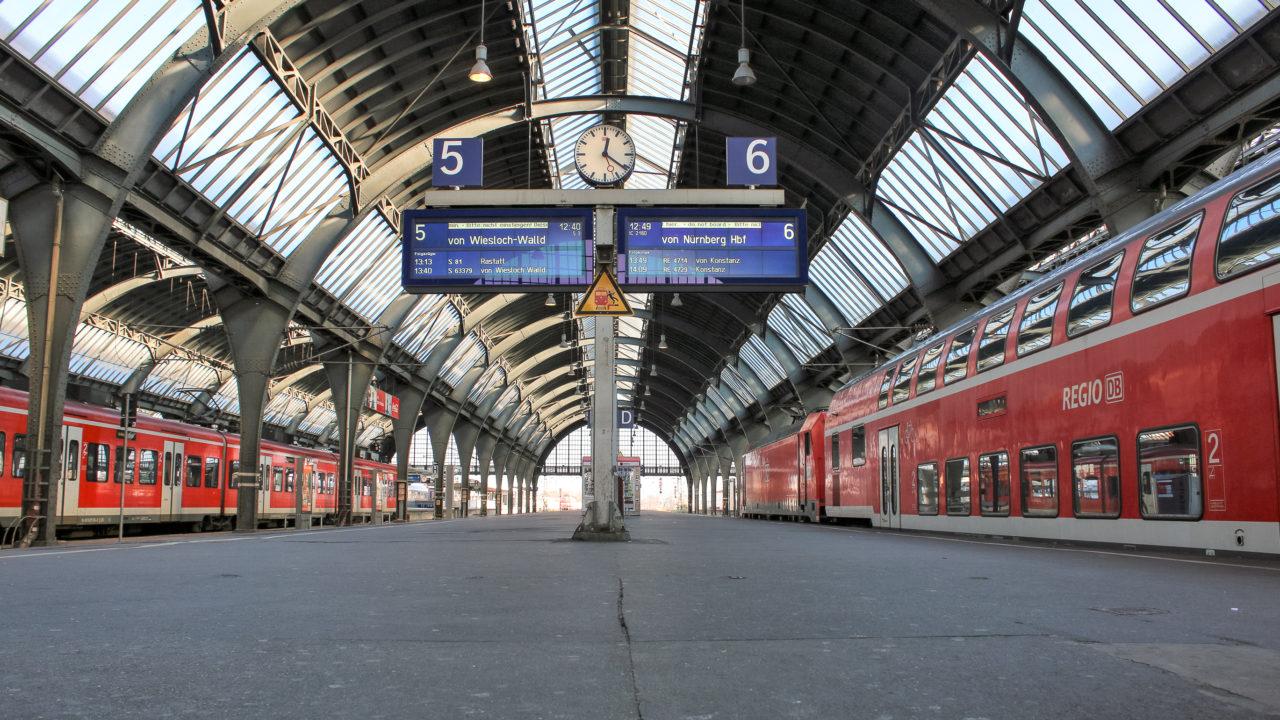 Hinterm Hauptbahnhof Karlsruhe