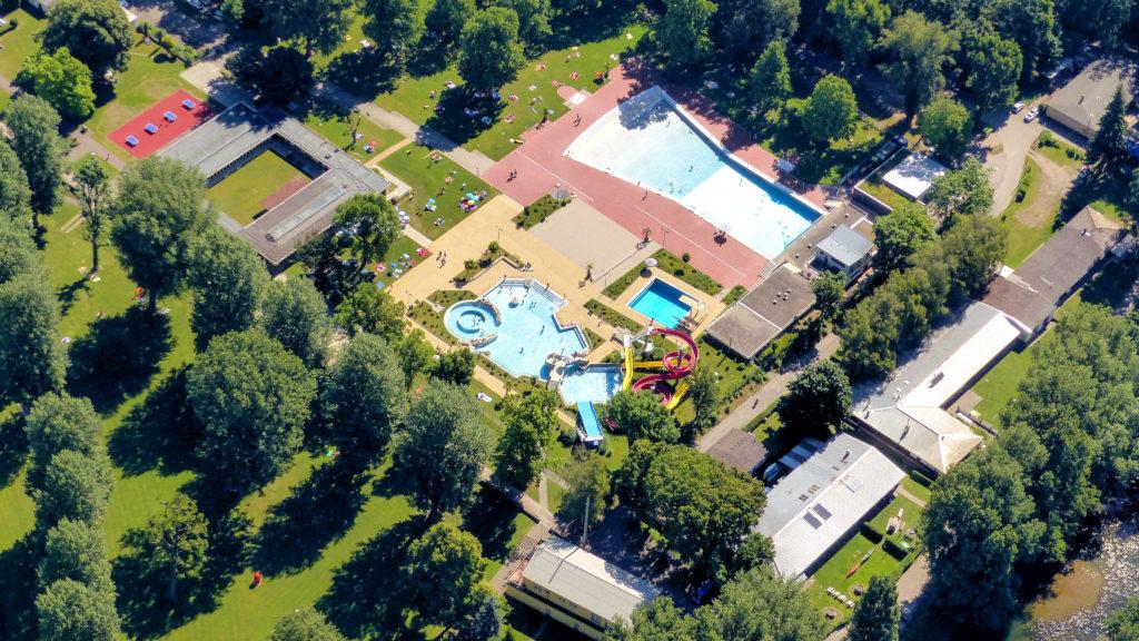 Deutschlands größtes freibad Brentanobad