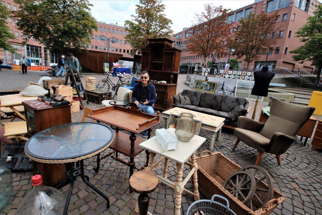 Messplatz Karlsruhe Flohmarkt