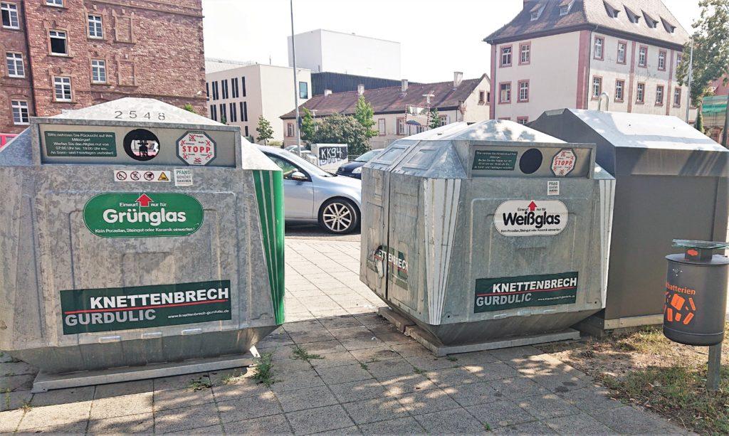 Wertstoffstation Durlach