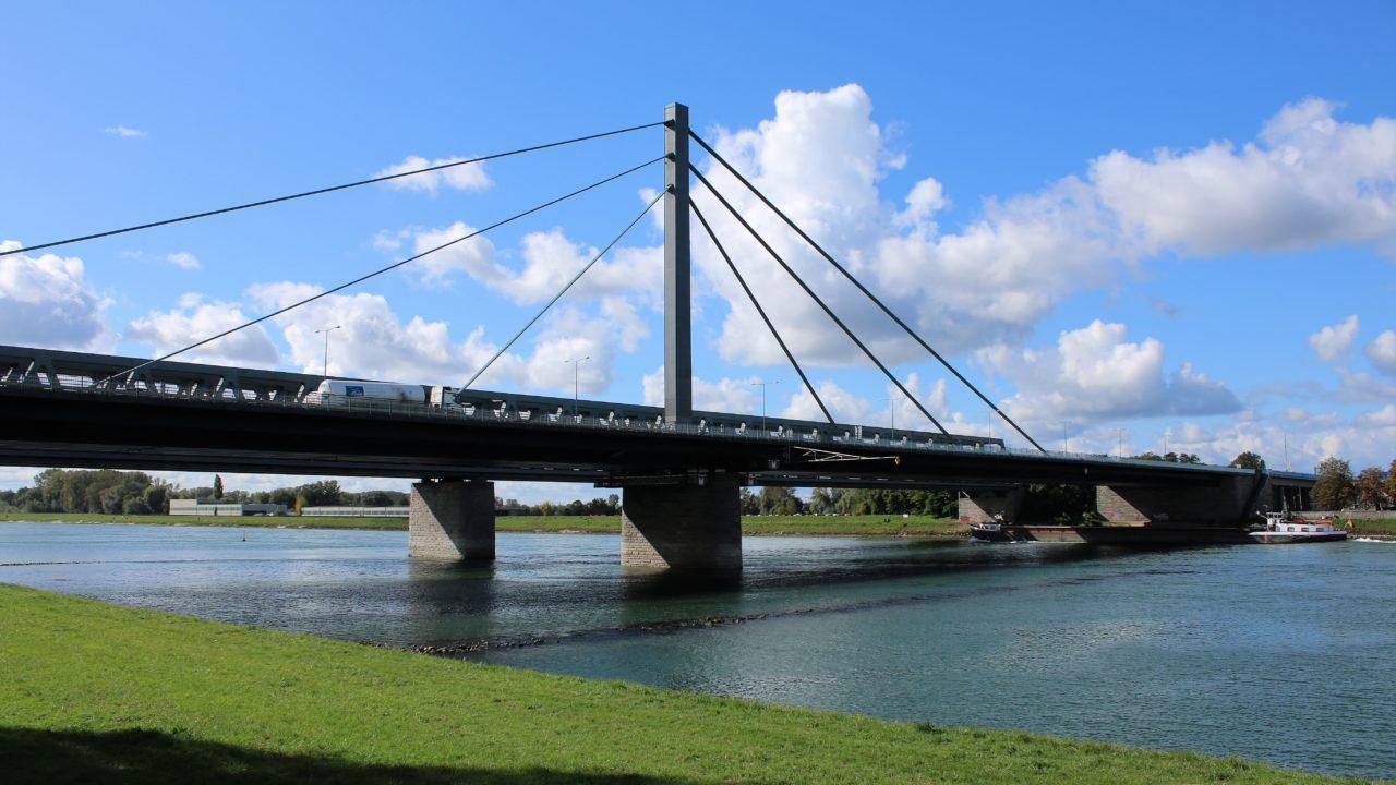 Rheinbrücke Karlsruhe Sanierung