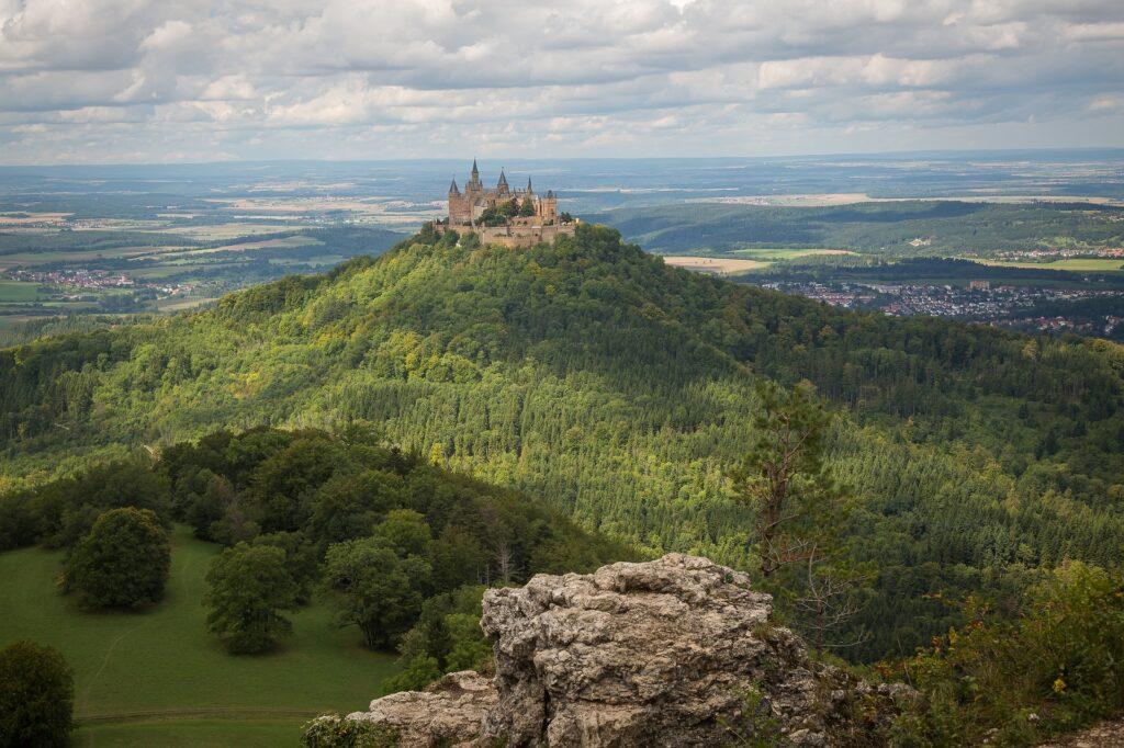 Burg Hohenzollern Beeindruckendes Majestatisches Ausflugsziel Meinka