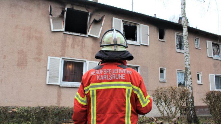 Brand In Karlsruhe Heute